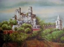 mesta_grimaud_le_chateau_feodal_50x70