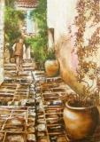 mesta_grimaud_provence_70x50_prodano